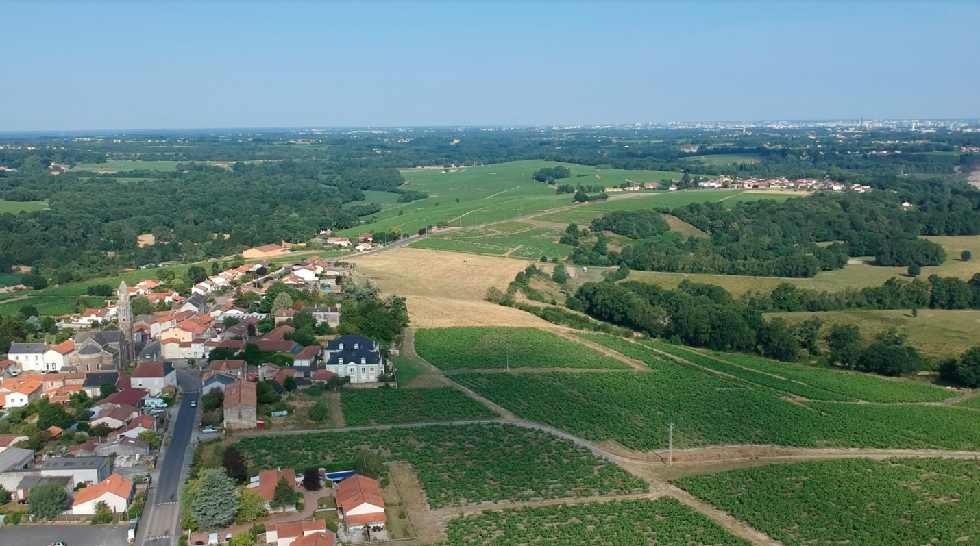 Vendee from the air